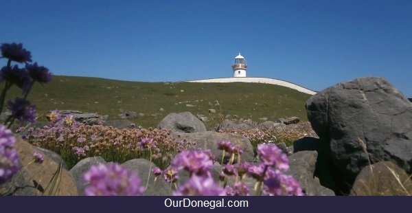 Saint Johns Point Lighthouse Near Killybegs Donegal
