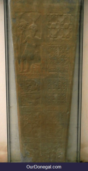 Gravestone Of Celtic Warrior Chief, Niall Mór Mac Sweeney