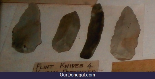 Flint Microliths Found In Donegal Ireland