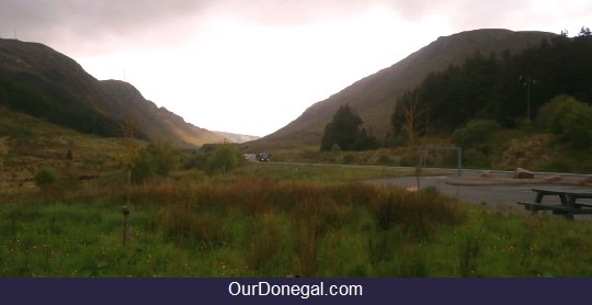 Barnesmore Gap In South Donegal Ireland Was Formed During The Ice Age