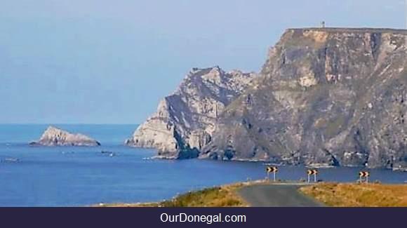 3-Storey Tower On Glen Head Cliffs Near Glencolmcille In Southwest Donegal Ireland