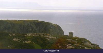 Historic Watchtower At Slieve League Cliffs