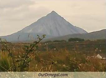 Errigal Mountain Is In Ireland's Donegal Gaeltacht