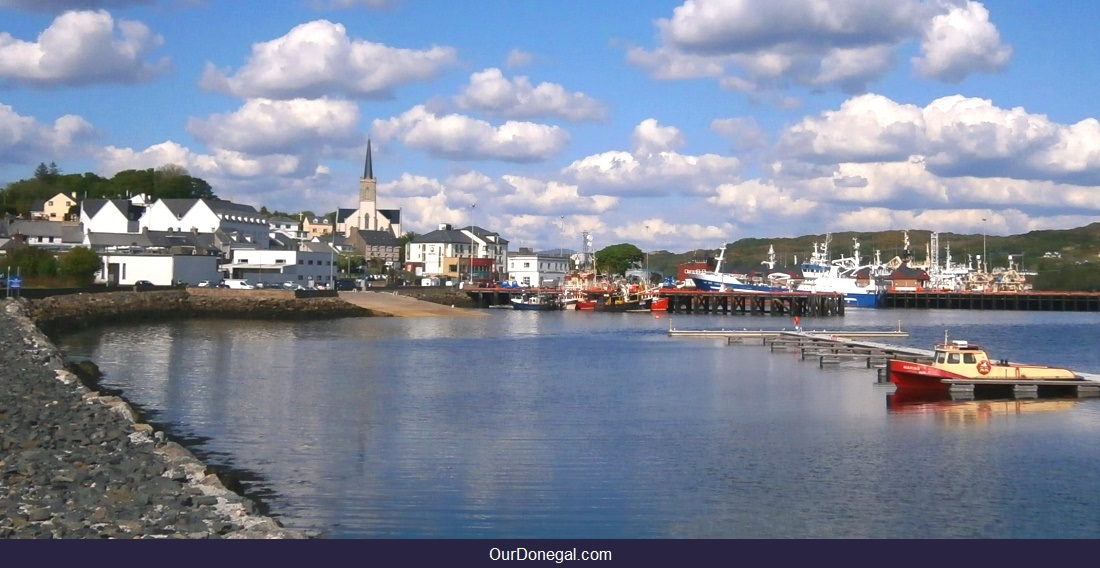 Visit Donegal Ireland's Main Fishing Port At Killybegs