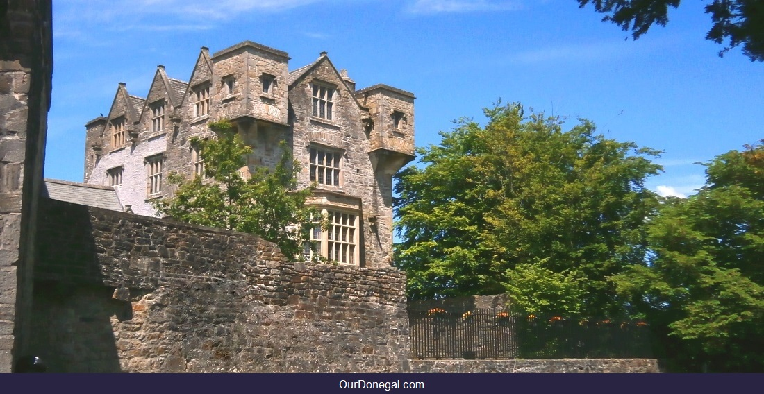 The O'Donnell Chieftain's Celtic Castle Donegal Town, Northwest Ireland