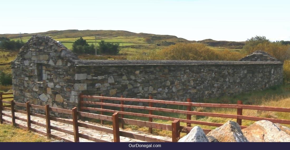 The Spaniard's Chapel Near Kilcar Village And The Slieve League Cliffs, Donegal Ireland