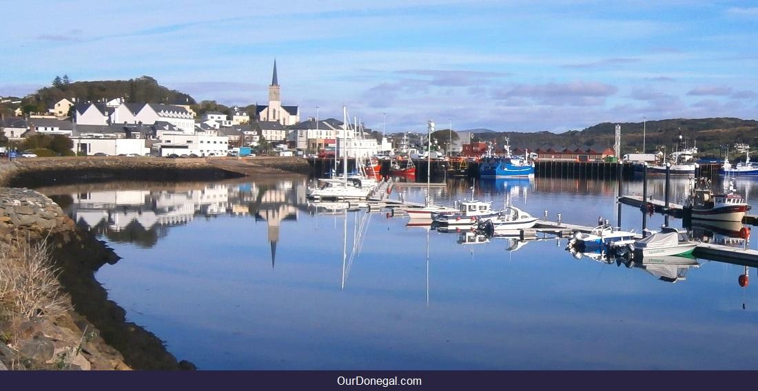 Killybegs Donegal Ireland Harbor Reflections