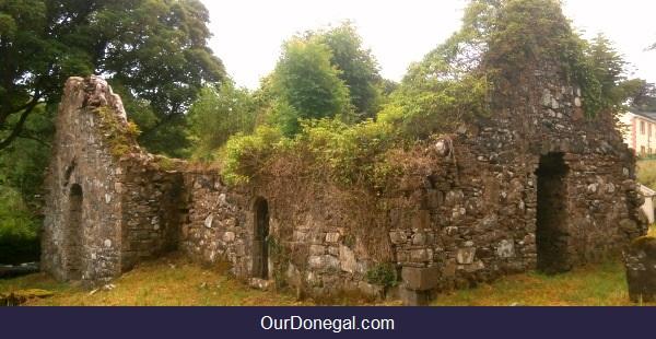Celtic Ruins Of Saint Catherine Church In Killybegs, Northwest Ireland