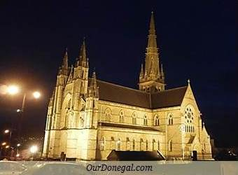 The Cathedral Of Saints Eunan And Columba In Letterkenny, Donegal, Ireland